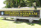 daftar jurusan di UNRAM universitas mataram