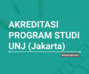 Akreditasi Program Studi UNJ Universitas Negeri Jakarta - Jurusan di UNJ