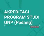 Akreditasi Program Studi UNP Universitas Negeri Padang - Jurusan di UNP