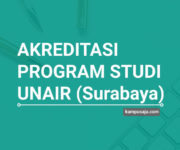 Akreditasi Program Studi UNAIR Universitas Airlangga Surabaya - Jurusan di UNAIR