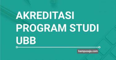 Akreditasi Program Studi UBB Universitas Bangka Belitung - Jurusan di UBB