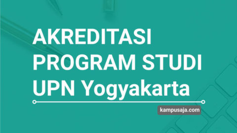 Akreditasi Program Studi UPN Yogyakarta - Jurusan di UPN Jogja