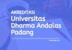 Akreditasi Program Studi UNIDHA Padang - Universitas Dharma Andalas