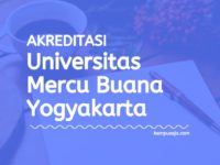 Akreditasi Program Studi Universitas Mercu Buana Yogyakarta