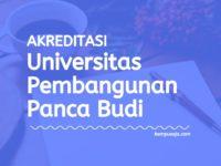 Akreditasi Program Studi Universitas Pembangunan Panca Budi Medan