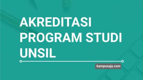 Akreditasi Program Studi UNSIL Universitas Siliwangi Tasikmalaya - Jurusan di UNSIL