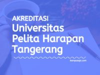 Akreditasi Program Studi UPH Tangerang - Universitas Pelita Harapan