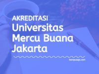 Akreditasi Program Studi Universitas Mercu Buana Jakarta