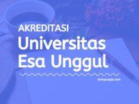 Akreditasi Program Studi Universitas Esa Unggul Jakarta