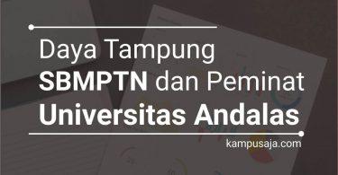 Daya Tampung SBMPTN UNAND dan Peminat UNAND Universitas Andalas Padang