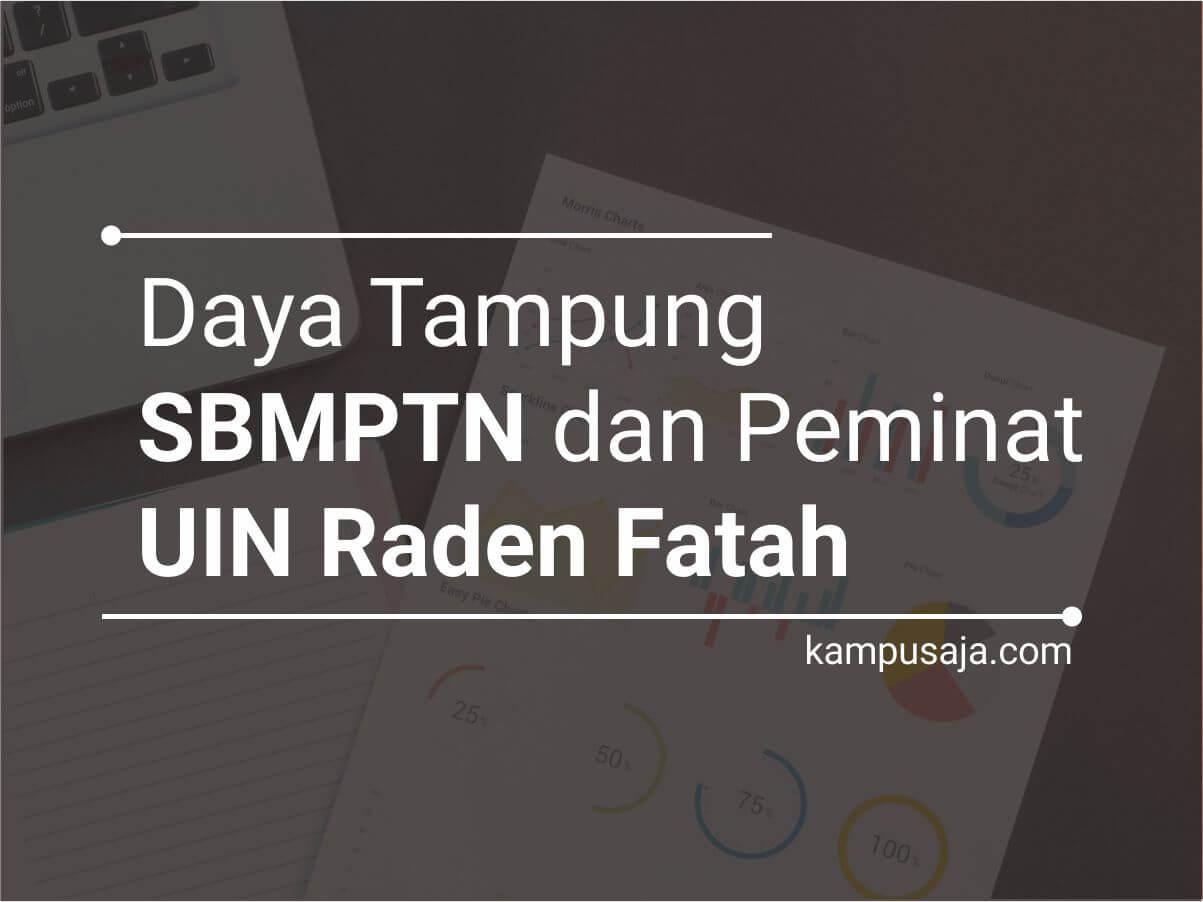 Daya Tampung dan Peminat SBMPTN UIN Raden Fatah Palembang