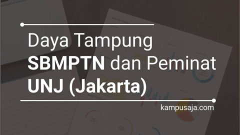Daya Tampung dan Peminat SBMPTN UNJ Universitas Negeri Jakarta