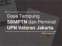 Daya Tampung dan Peminat SBMPTN UPN Jakarta