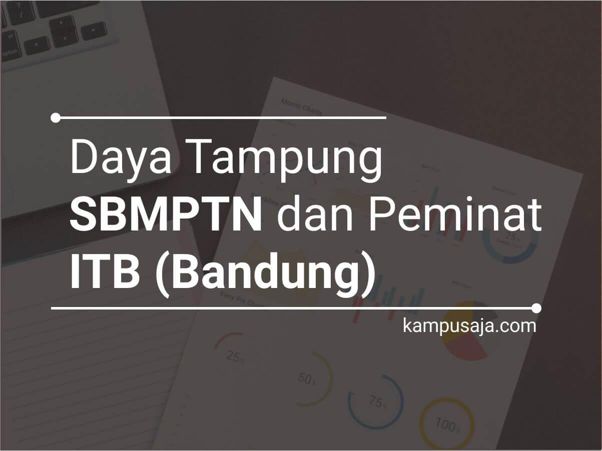 Daya Tampung dan Peminat SBMPTN ITB Institut Teknologi Bandung