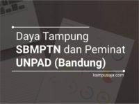 Daya Tampung dan Peminat SBMPTN UNPAD Universitas Padjadjaran Bandung
