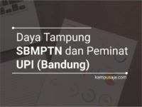 Daya Tampung dan Peminat SBMPTN UPI Universitas Pendidikan Indonesia