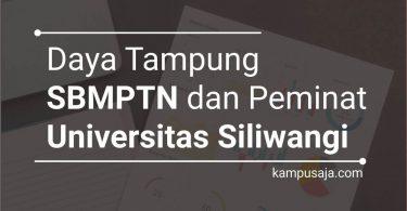 Daya Tampung dan Peminat SBMPTN UNSIL Universitas Siliwangi