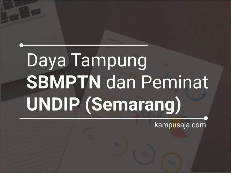 Daya Tampung dan Peminat SBMPTN UNDIP Universitas Diponegoro Semarang