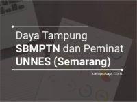 Daya Tampung dan Peminat SBMPTN UNNES Universitas Negeri Semarang