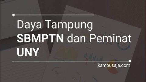 Daya Tampung SBMPTN UNY dan Peminat UNY Universitas Negeri Yogyakarta