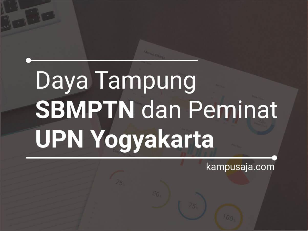 Daya Tampung dan Peminat SBMPTN UPN Yogyakarta