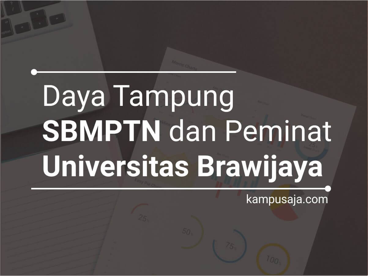 Daya Tampung dan Peminat SBMPTN UB Universitas Brawijaya Malang