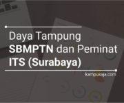 Daya Tampung dan Peminat SBMPTN ITS Surabaya