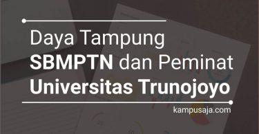 Daya Tampung dan Peminat SBMPTN UTM Universitas Trunojoyo Madura