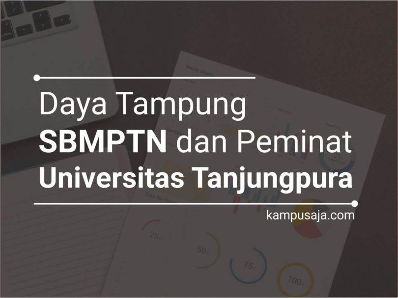 Daya Tampung dan Peminat SBMPTN UNTAN Universitas Tanjungpura Pontianak