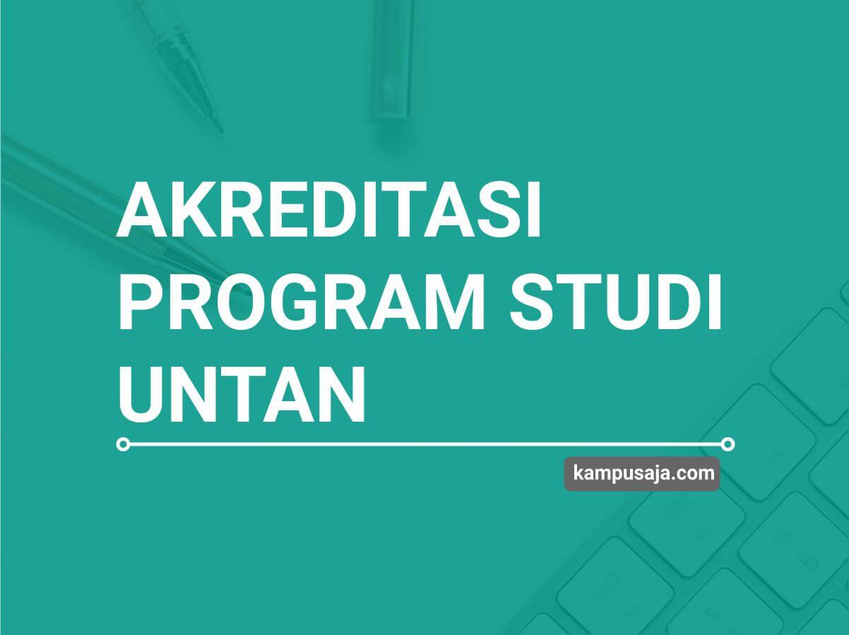 Akreditasi Program Studi UNTAN Universitas Tanjungpura Pontianak - Jurusan di UNTAN