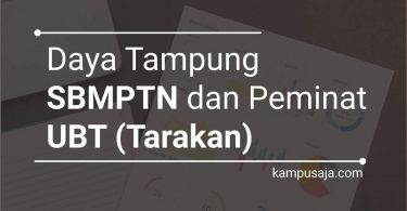 Daya Tampung dan Peminat SBMPTN UBT Universitas Borneo Tarakan