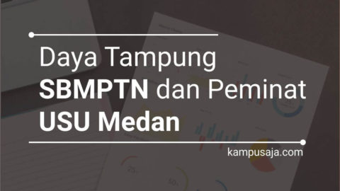 Daya Tampung SBMPTN USU dan Peminat USU Universitas Sumatera Utara Medan