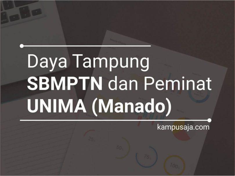 Daya Tampung dan Peminat SBMPTN UNIMA Universitas Negeri Manado