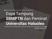 Daya Tampung dan Peminat SBMPTN UHO Universitas Halu Oleo Kendari
