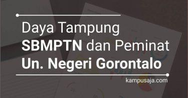 Daya Tampung dan Peminat SBMPTN UNG Universitas Negeri Gorontalo