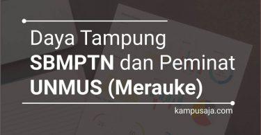 Daya Tampung dan Peminat SBMPTN UNMUS Universitas Musamus Merauke