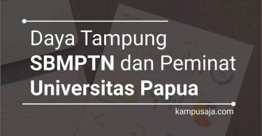 Daya Tampung dan Peminat SBMPTN UNIPA Universitas Papua Manokwari