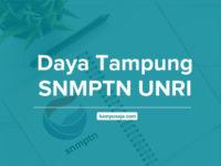 Daya Tampung SNMPTN UNRI - Jalur Undangan Universitas Riau