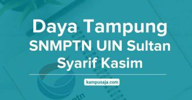 Daya Tampung SNMPTN UIN Sultan Syarif Kasim Riau
