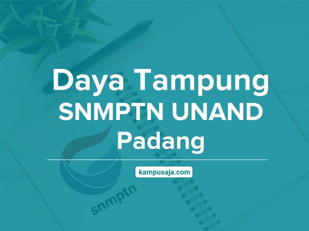 Daya Tampung SNMPTN UNAND Universitas Andalas Padang