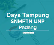 Daya Tampung SNMPTN UNP Universitas Negeri Padang