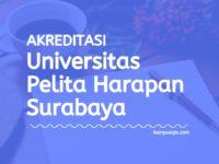 Akreditasi Program Studi UPH Surabaya - Universitas Pelita Harapan