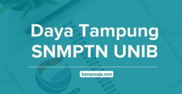 Daya Tampung SNMPTN UNIB Universitas Bengkulu