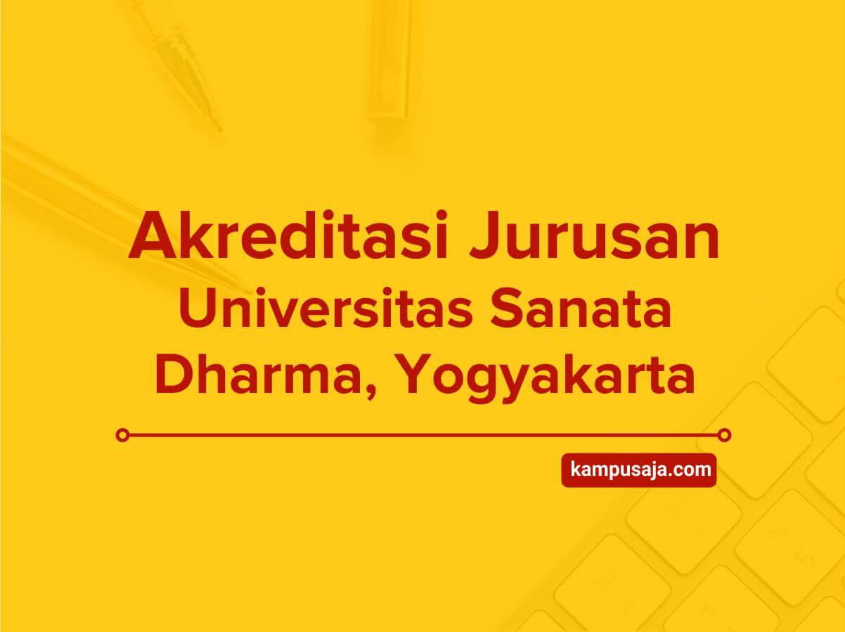 Akreditasi Jurusan USD Yogyakarta - Universitas Sanata Dharma