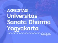 Akreditasi Program Studi USD Yogyakarta - Universitas Sanata Dharma