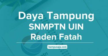 Daya Tampung SNMPTN UIN Raden Fatah Palembang