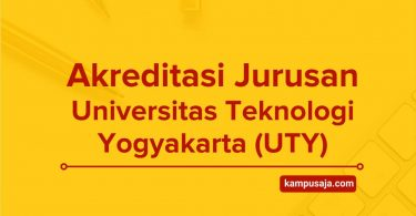 Akreditasi Jurusan UTY Universitas Teknologi Yogyakarta