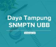 Daya Tampung SNMPTN UBB Universitas Bangka Belitung