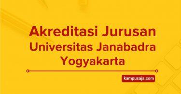 Akreditasi Jurusan Universitas Janabadra Yogyakarta