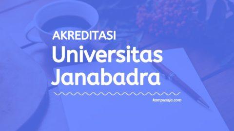 Akreditasi Program Studi Universitas Janabadra Yogyakarta